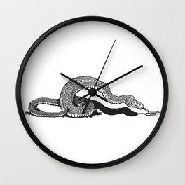 Snake 2 Wall Clock