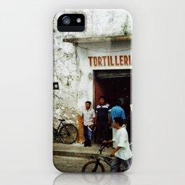 Tortilleria Rosario iPhone Case