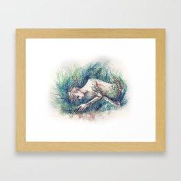 adam parrish - magician Framed Art Print