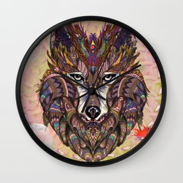 Shaman's Whisper Wall Clock