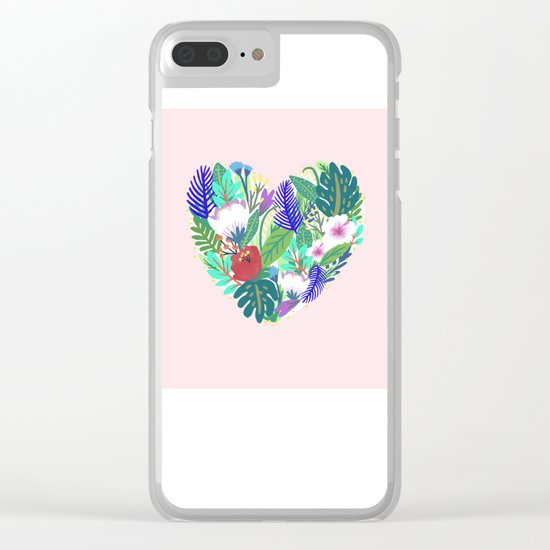 Flourish Where You Are Clear iPhone Case