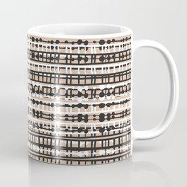 Abstract Net - Neutral Coffee Mug