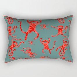 Monkey pattern Rectangular Pillow