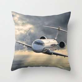 40 years flying Throw Pillow