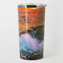 Sunset splash Travel Mug