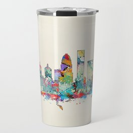 Louisville Kentucky skyline Travel Mug