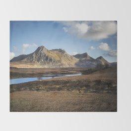 Highland Mountains Throw Blanket