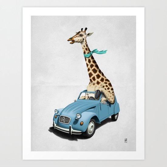 Riding High! (Wordless) Art Print