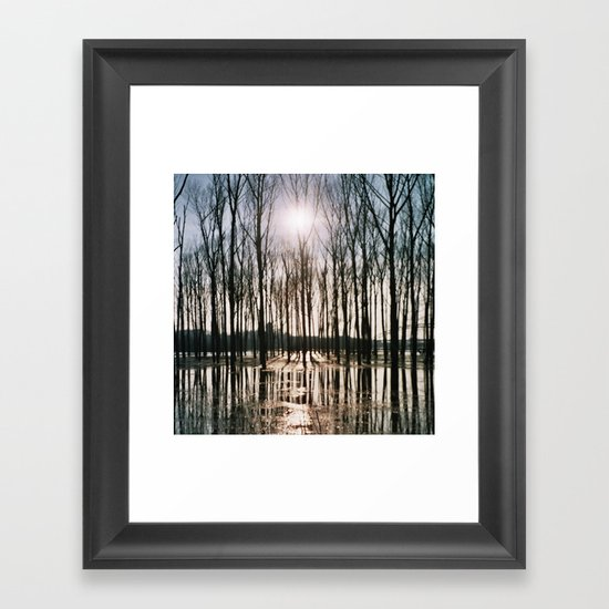 once upon a time. Framed Art Print