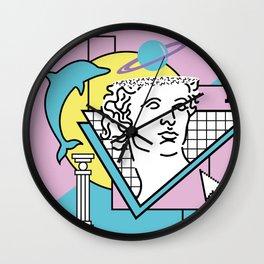 Apollo - Vaporwave - 80s Wall Clock