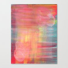 Sunset Background Canvas Print