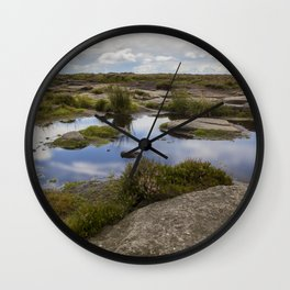 Pool At The Top Of The World Wall Clock