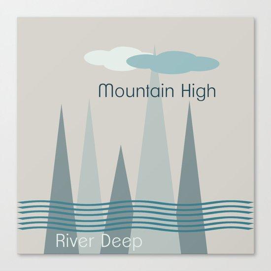 River Deep Canvas Print
