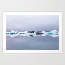Iceline Art Print
