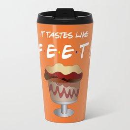 It tastes like feet! - Friends Travel Mug