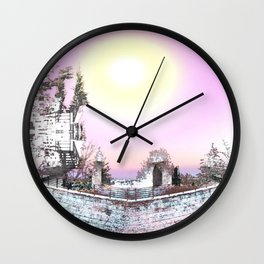 Fortress of Creation Wall Clock
