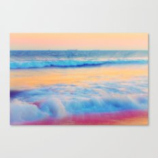 Pastel sea  Canvas Print
