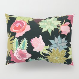 California Rose Garden Pillow Sham