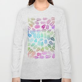 Colorful branches 3 Long Sleeve T-shirt