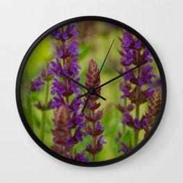 Sage field Wall Clock