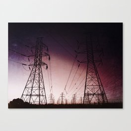 Space Lines Canvas Print