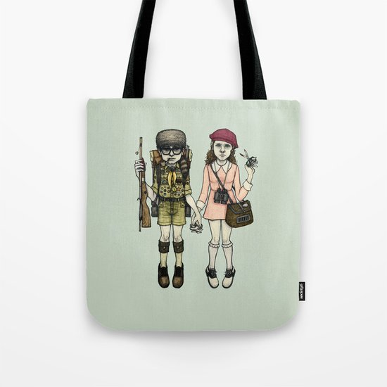 SAM and SUZY Tote Bag