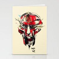 doom Stationery Cards featuring DOOM by chuma hill