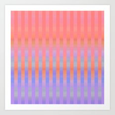 Oh So Stripy Art Print