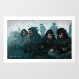 """We are the revolution"" Art Print"
