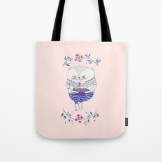 strawberry cat Tote Bag