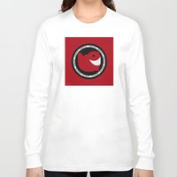 narwhal Long Sleeve T-shirts featuring NARWHAL by David Nuh Omar