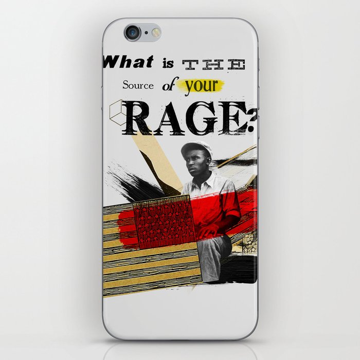 Rage iPhone Skin