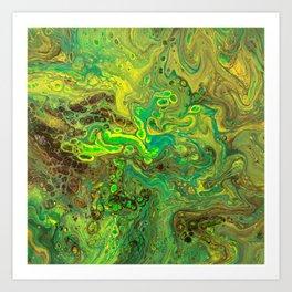 AMPHIBLION Art Print