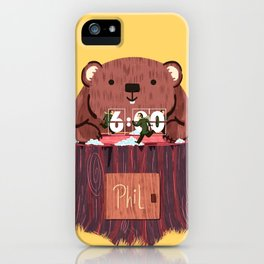 Phil? I thought that was you! iPhone Case