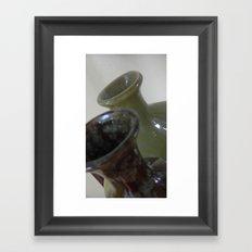 Just vases Framed Art Print