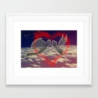 angels Framed Art Prints featuring angels by JanUFotO