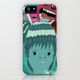 """Aquaboy"" by Kieran David iPhone Case"