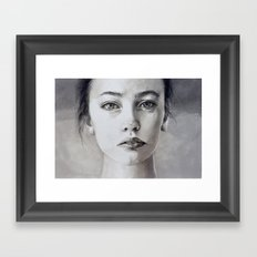 A memory Framed Art Print