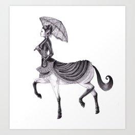 Victorian Centaur Art Print