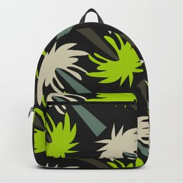 Retro palm tree decor Backpack