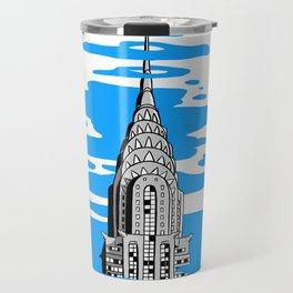 Shine like the top of the Chrysler Building! Travel Mug