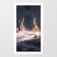 The New Land's Gate  Art Print