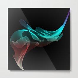 Bending Light Metal Print