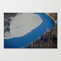 Scenic Flight Canvas Print