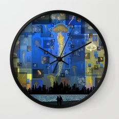 Our Jellyfish Sky Wall Clock
