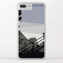 Quite Moment, San Francisco  Clear iPhone Case