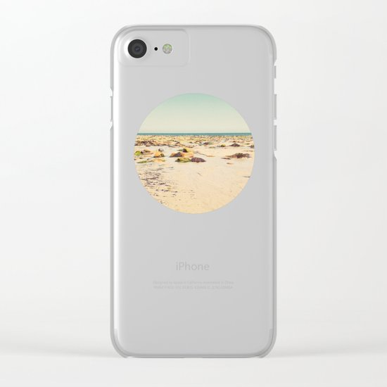 Rocky Beach Clear iPhone Case