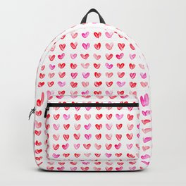 Little Painted Hearts Backpack
