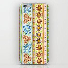 Parterre Botanique Vertical iPhone Skin