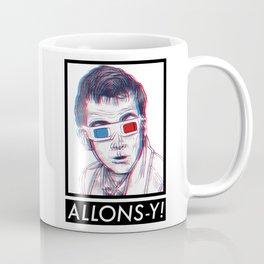 10th Doctor 3D Glasses Coffee Mug